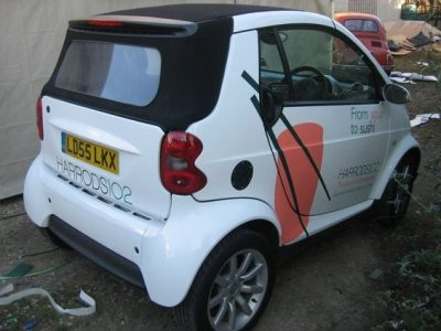 HARRODS SMART CAR
