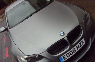 FROST GREY M3 CAR WRAP