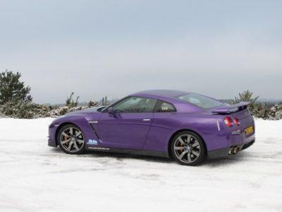 Purple Zilla GT-R