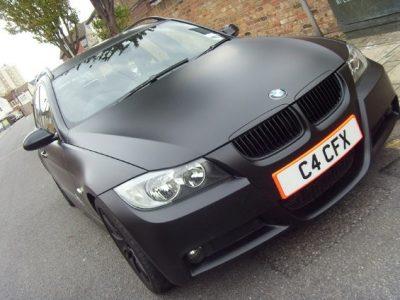 MATT BLACK BMW ESTATE