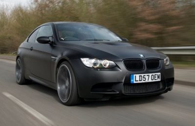 BMW CAR'S MATT BLACK M3