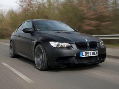 BMW CAR'S MATT BLACK M3