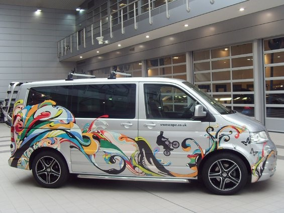 Volkswagen Escape Decal Creative Fx