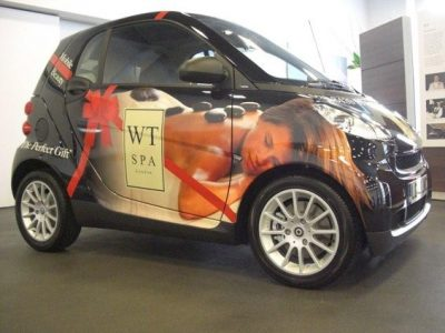 WT SPA SMART CAR ADVERTISING