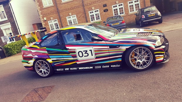 BMW M3 Full Wrap Graphics London