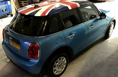 MINI F55 ROOF WRAP