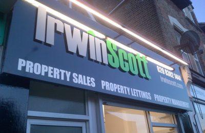 Irwin Scott Signage