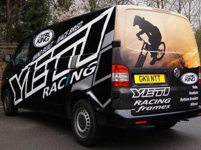 Yeti Racing VW Van