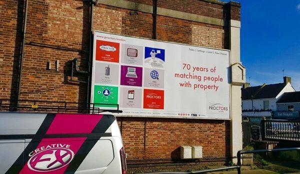 Advertisment-Hoarding-proctors-creative-FX-www.fxuk.net-signs-in-kent-signs-in-london-1-