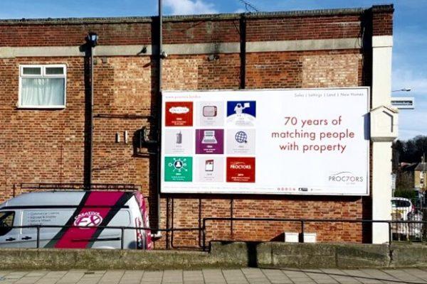 Advertisment-Hoarding-proctors-creative-FX-www.fxuk.net-signs-in-kent-signs-in-london-2-