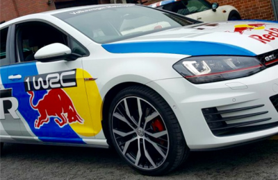 BEADLES RED BULL VW