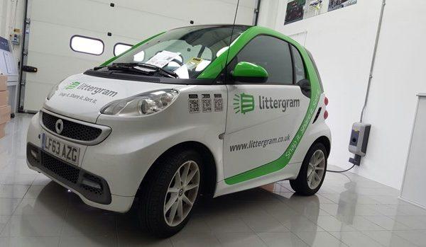 Littergram-car-wrap-smart-car-fxuk.net-creative-fx-wraps-in-kent-1