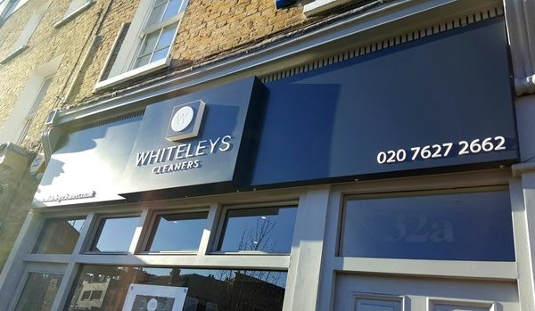 Whiteleys-Cleaners-in-bromley-signs-by-creative-fx-www.fxuk.net-signs-in-Bromley-signs-in-london-car-wrapping-company-creative-FX-2