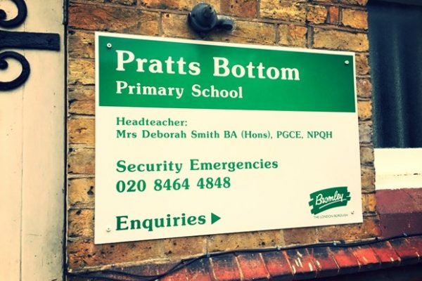 Pratts-bottom-primary-school—signs-www.fxuk.net-creative-fx-signs-in-london-kent-2