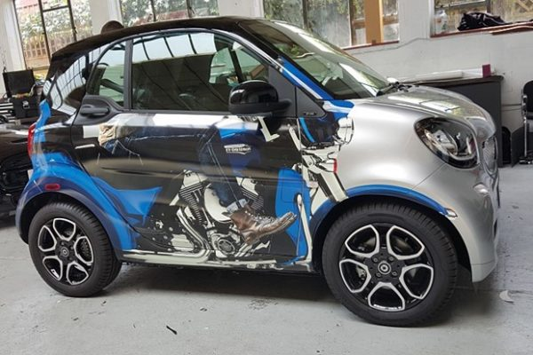 Smart Car Harley Wrap Creative Fx