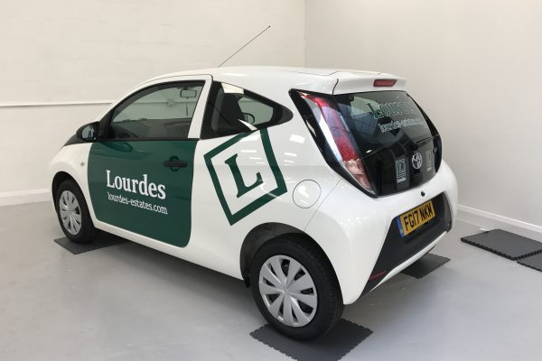 Lordes Car Wrap By Creative FX Bromley 1