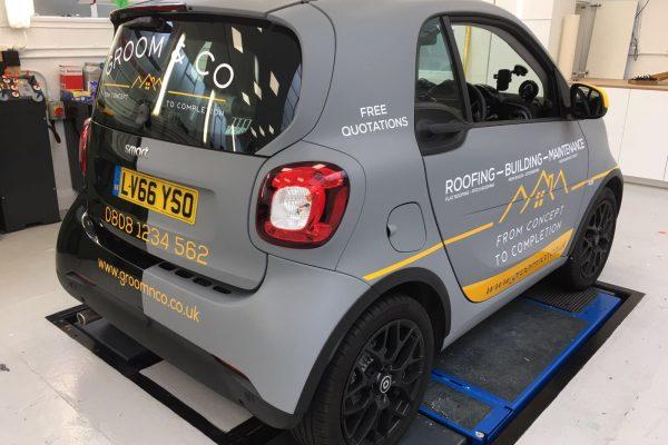 Groom & Sons Car Wrap 2