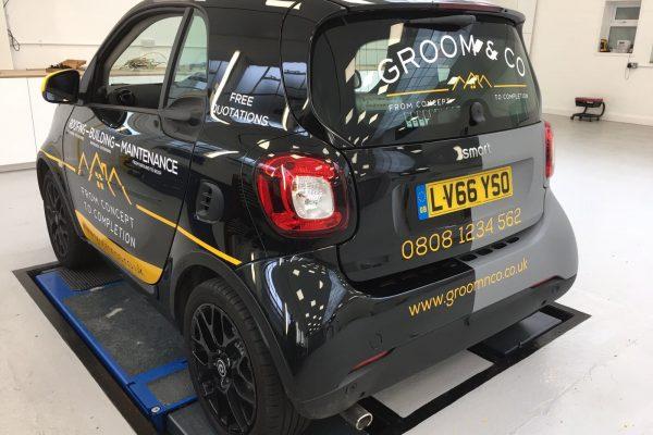 Groom & Sons Car Wrap 3