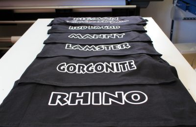 NICKNAME HOLIDAY T-SHIRTS PRINTED
