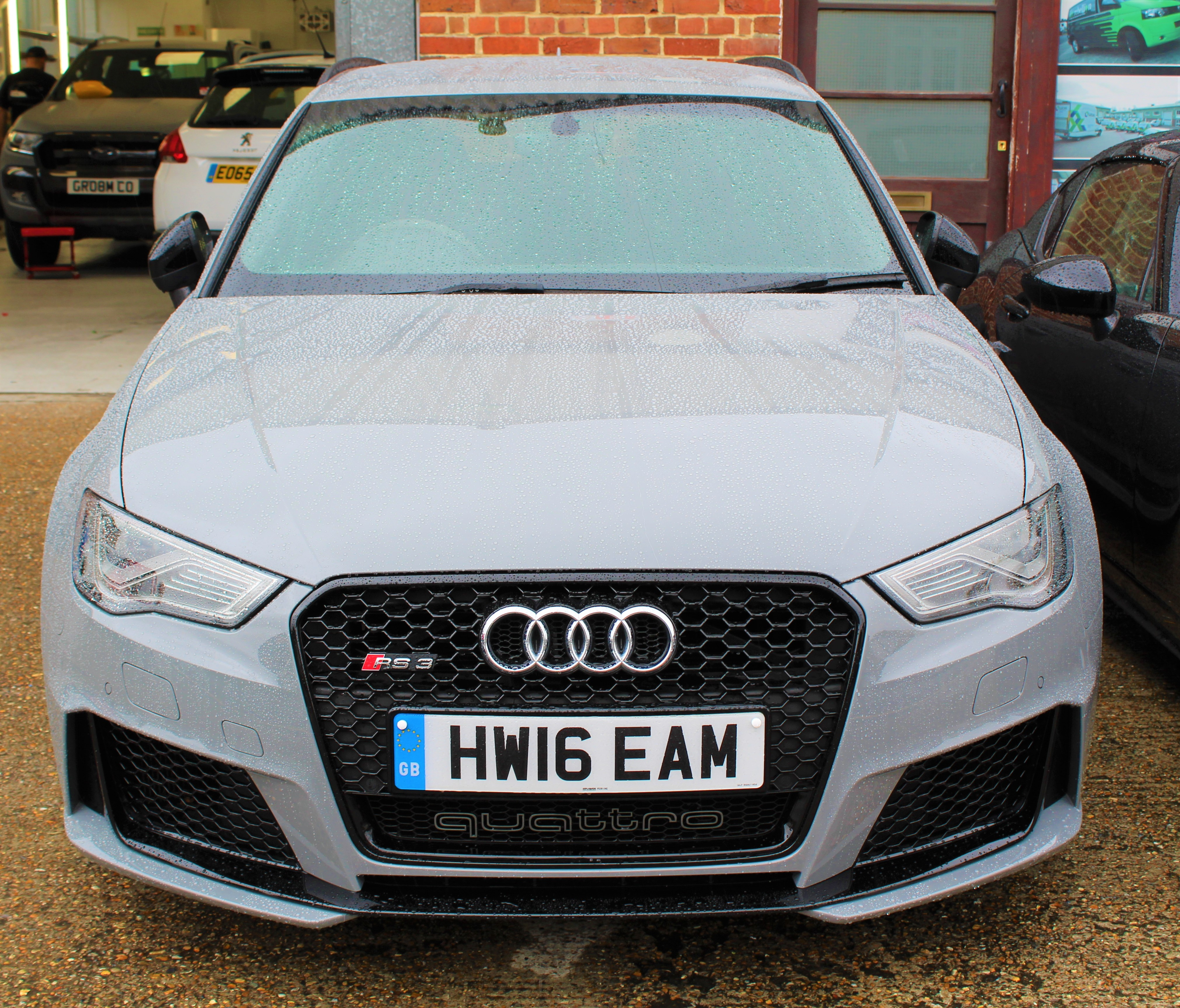 Audi Rs3 Wrapped In Paint Film Protection By Cfx London