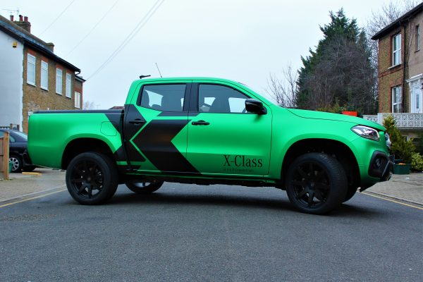Xclass Mercedes Green Envy Wrap By Creative Fx 1