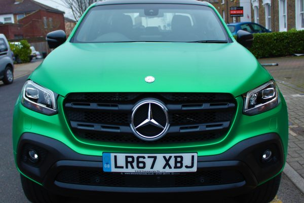 Xclass Mercedes Green Envy Wrap By Creative Fx 5