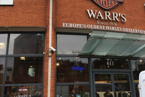 Warrs Motors Signage By Creative Fx 2