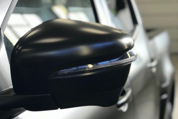Satin Black X-class Wrap By Creative Fx Wraps In London 6]