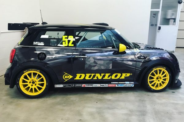 Dunlop MINI Challenge Race Car By Creative Fx Wrapped 1