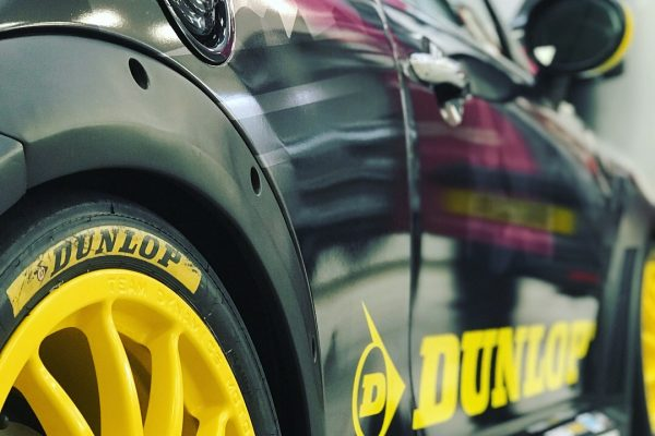 Dunlop MINI Challenge Race Car By Creative Fx Wrapped 3