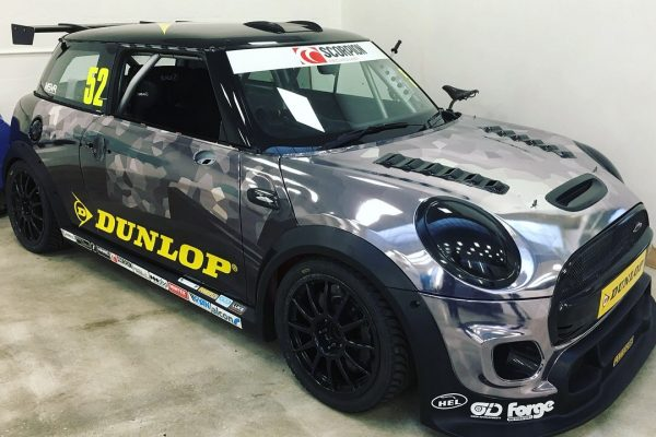 Dunlop MINI Challenge Race Car By Creative Fx Wrapped 4