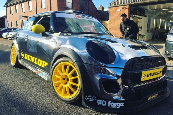 Dunlop MINI Challenge Race Car By Creative Fx Wrapped 5