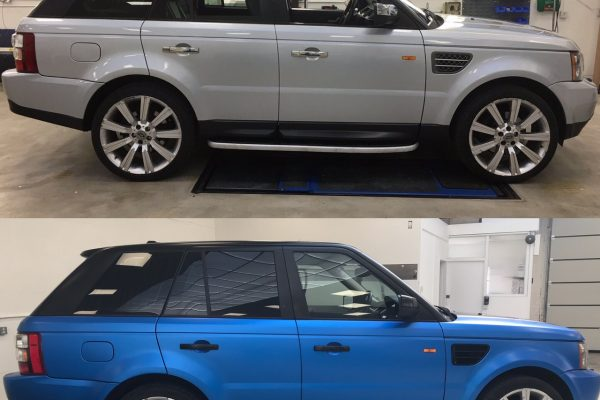 Rangerover Sport Car Wrap By Creative Fx 3