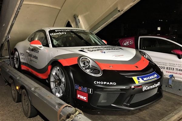 Porsche Gt3 Cup Car Wrapped By Creative Fx Bromley 4