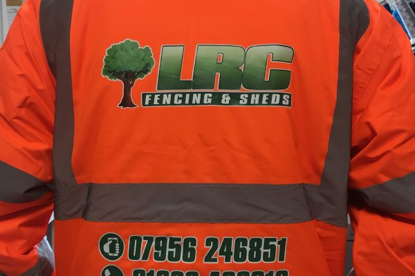 LRC Fencing And Sheds Clothing By Creative Fx 6
