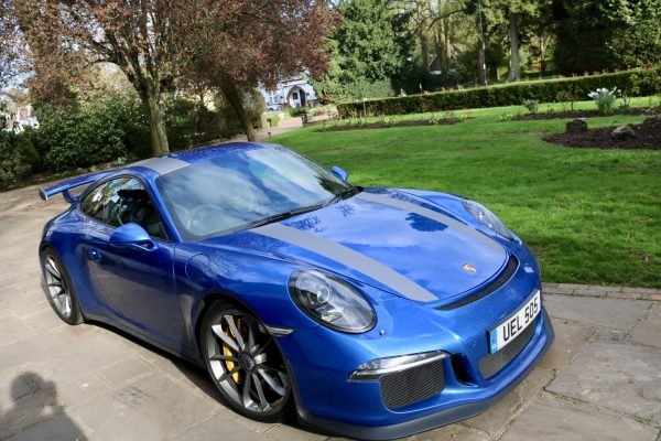 Porsche 911 GT3 Stripes 1 By Creative Fx In Bromley Car Wrapping London 2