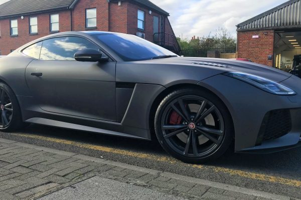 F Type Jaguar Sating Grey Wrap By Creative Fx In Bromley 3