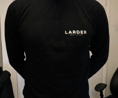 Larder Meat And Eat Workwear By Creative Fx Based In Bromley Workwear Tshirt Printing Unifrom Creative Fx 3