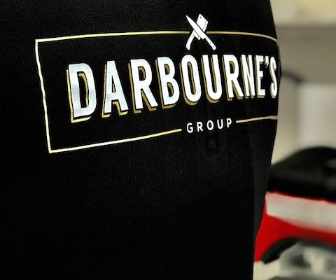 Larder Meat And Eat Workwear By Creative Fx Based In Bromley Workwear Tshirt Printing Unifrom Creative Fx 5