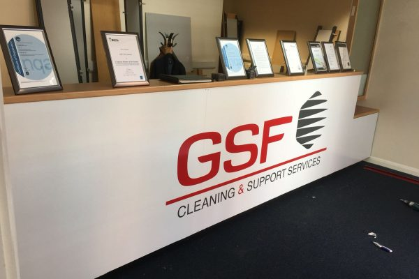 GSF Signage By Creative Fx Signage And Fascia Work Bromley Creative Fx 1