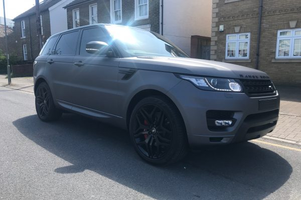Range Rover Matte Charcoal Wrap By Creative Fx In Bromley 2