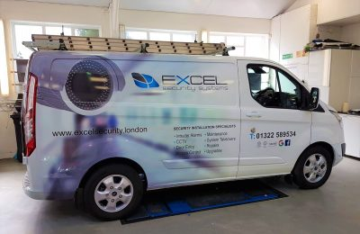 FULL GRAPHIC VINYL WRAP – EXCEL SECURITY