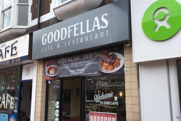 Goodfellas Shop Signage By Creative Fx 2
