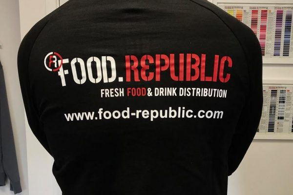 Food Republic Printed Clothing By Creative FX In Bromley 2