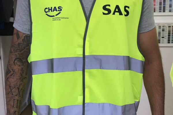 SAS Scaffolding Clothing Printed By Creative Fx 2