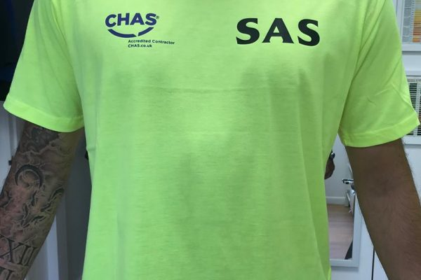 SAS Scaffolding Clothing Printed By Creative Fx 4