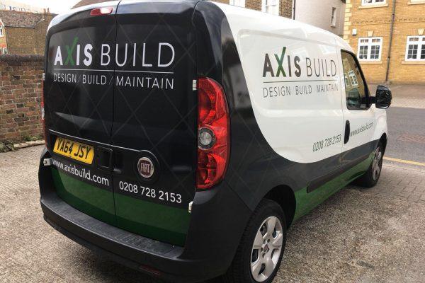 Axis Build Van Wrap By South East London Creative Fx 2