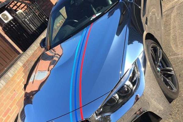 Bmw Chrome Wrap Gumball Ralley 2