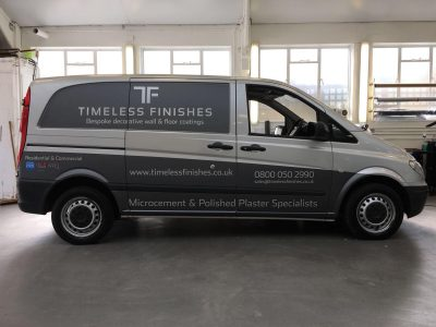 PARTIAL WRAP – TIMELESS FINISHES