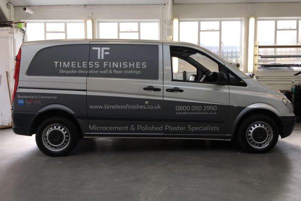 Timeless Finishes By Creative Fx Van Wraps In Bromley 5
